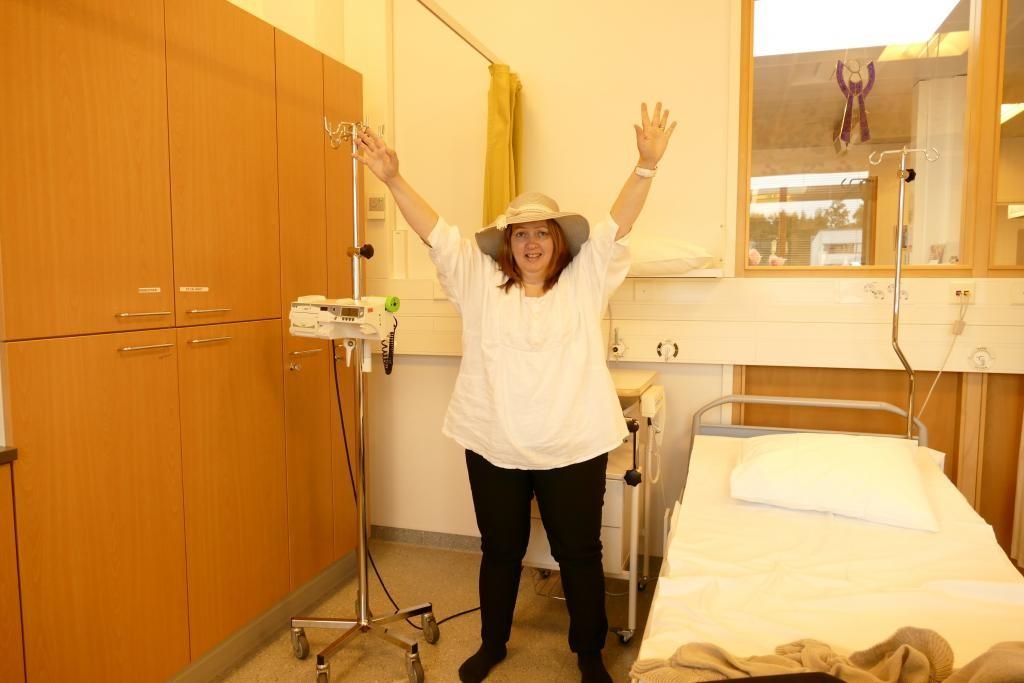 Tästä alkaa taistelu syöpää vastaan yhdessä solumyrkkyjen kanssa. Voittoa odotellessa!